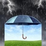 雨が降っている時に傘を借りられる会社にする